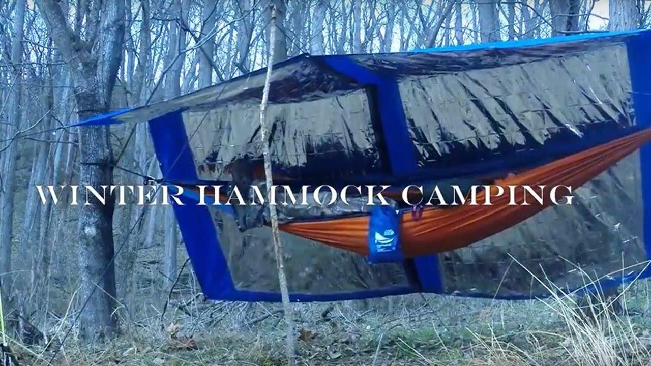 winter hammock camping winter hammock camping   youtube  rh   youtube