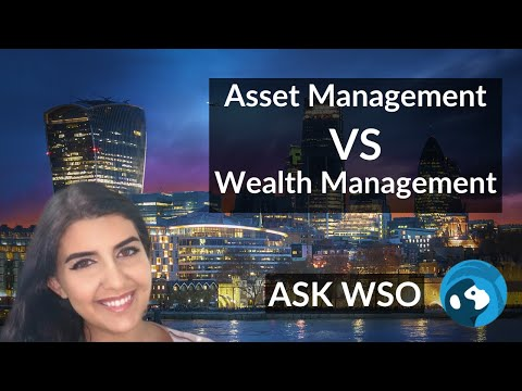 Asset (AM) vs Wealth Management (PWM) & What They Do