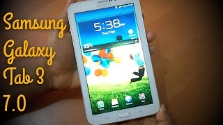 Samsung Galaxy Tab 3 7.0 Review and gameplay