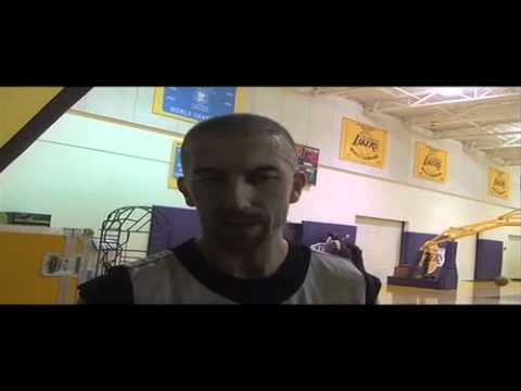 Lakers Guard Steve Blake and Coach Phil Jackson on Blake's new role