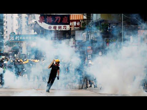 آلاف المتظاهرين في شوارع هونغ كونغ للأسبوع العاشر على التوالي  - 12:55-2019 / 8 / 12