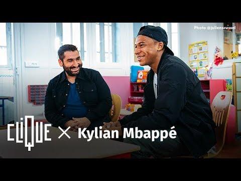 Clique x Kylian Mbappé