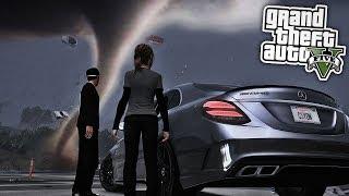 TORNADO IN LOS SANTOS! 😱 - GTA 5 REAL LIFE MOD