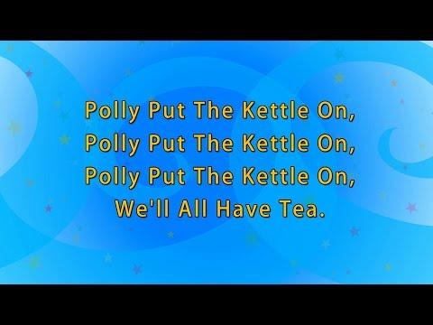 Karaoke Rhymes: Polly Put kettle On