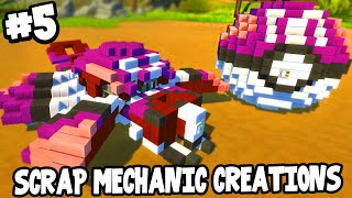 Scrap Mechanic CREATIONS! - FLYING MASTER BALL! [#5] W/AshDubh | Gameplay |(SCRAP MECHANIC CREATIONS! In this video of Scrap Mechanic, it's time to show off your CREATIONS! Today me and AshDubh check out a EPIC FLYING ..., 2016-08-07T18:27:45.000Z)