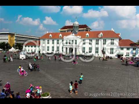 """Kota Tua Jakarta """"Jakarta Old Town"""", Time lapse,  4K"""
