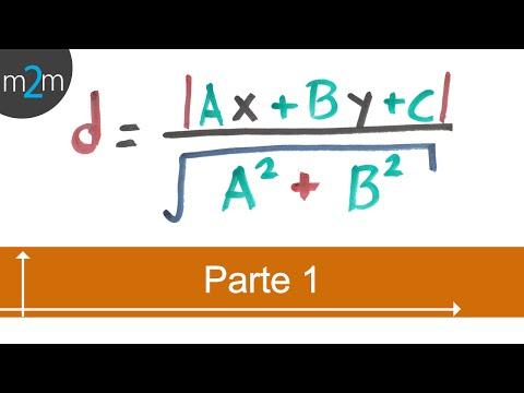 * Distancia entre un punto y una recta (PARTE 1)