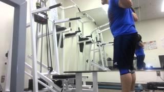 Paused Squat - 245 pounds/111.36 kg Set 1/4