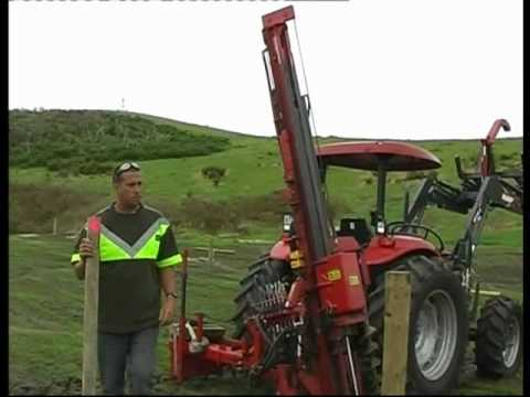 Fencing Contractor New Zealand Using King Hitter