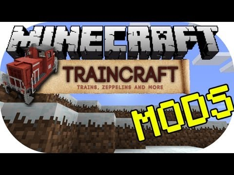 how to drive a train in minecraft traincraft
