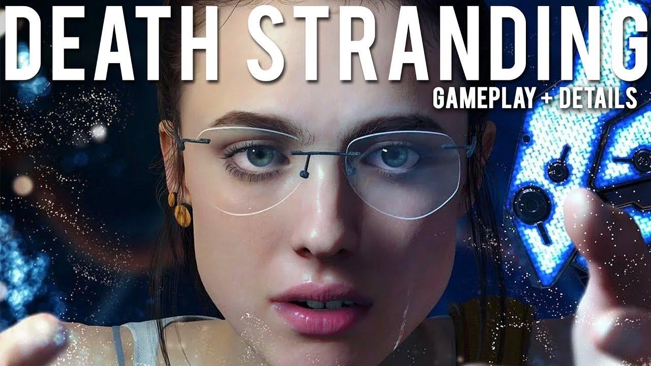 Details zum Death Stranding Gameplay und zur Story + video