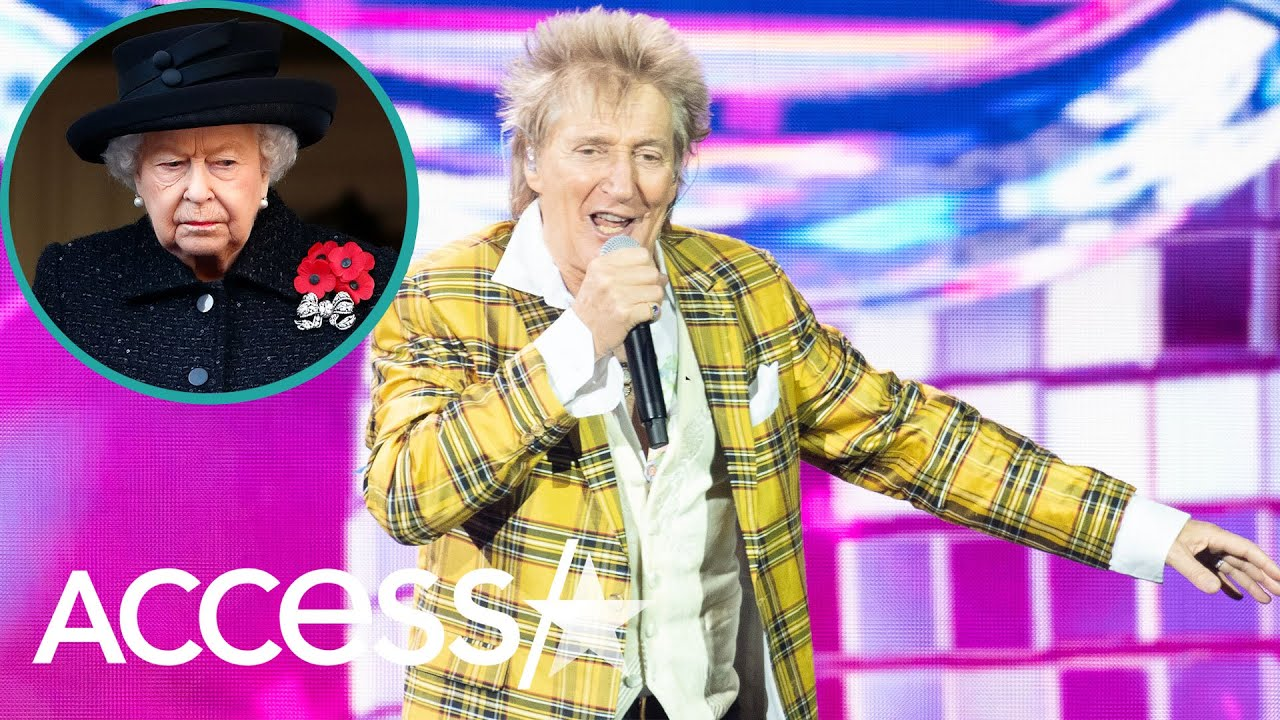 Rod Stewart Criticizes Prince Harry And Meghan Markle For Not Spending Christmas With The Queen