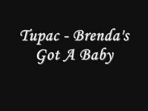 Tupac - Brenda's Got A Baby *Lyrics