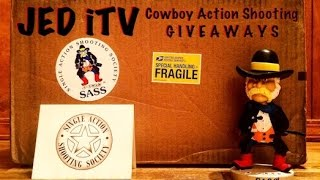 [Unboxing] Cowboy Action Shooting Giveaways from SASS and JED iTV
