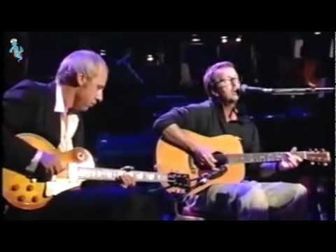 Eric Clapton & Mark Knopfler - Layla - Live (remastered) Widescreen with LyRiCs (english/deutsch)