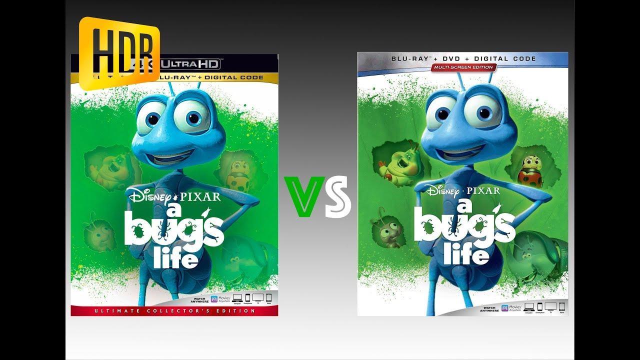 Download ▶ Comparison of A Bug's Life 4K (2K DI) HDR10 vs Regular Version