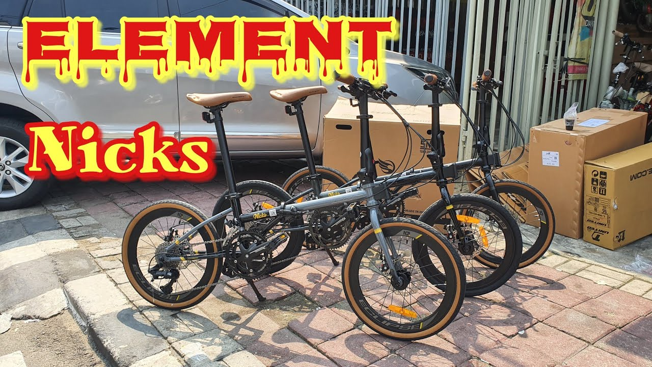 Sepeda Lipat Element Nicks Model Dahon Boardwalk Youtube