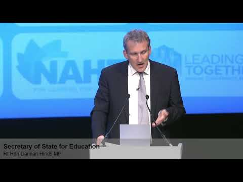 Damian Hinds's speech from NAHT annual conference