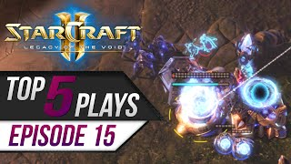 StarCraft 2: TOP 5 Plays - Episode 15