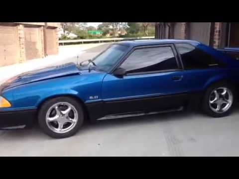 1992 Ford Mustang GT 50 351 Windsor  YouTube
