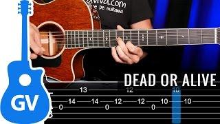 Cómo tocar Wanted Dead Or Alive de Bon Jovi en guitarra acústica  guitarraviva