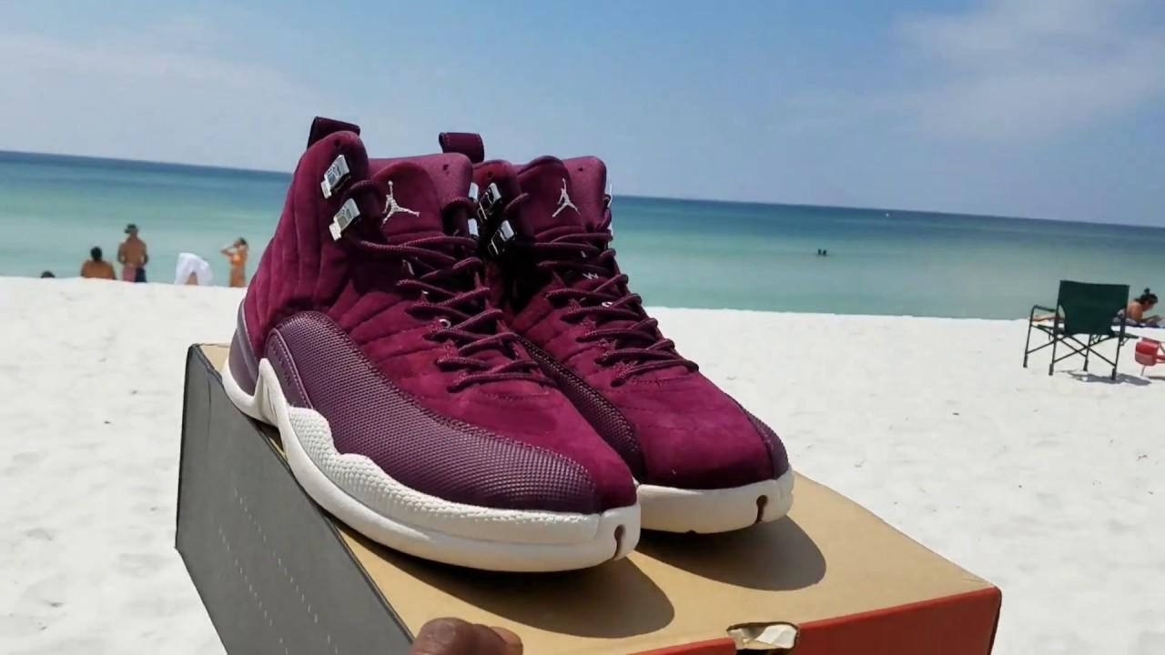 wholesale dealer 3e4df 50902 Jordan 12 Bordeaux Came Lookin A1 Gucci Mofo Pucci