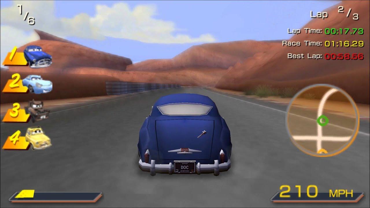 Cars Doc Hudson Race