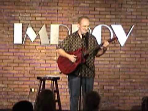 Comedian Al Fike at The Improv Short Demo clip