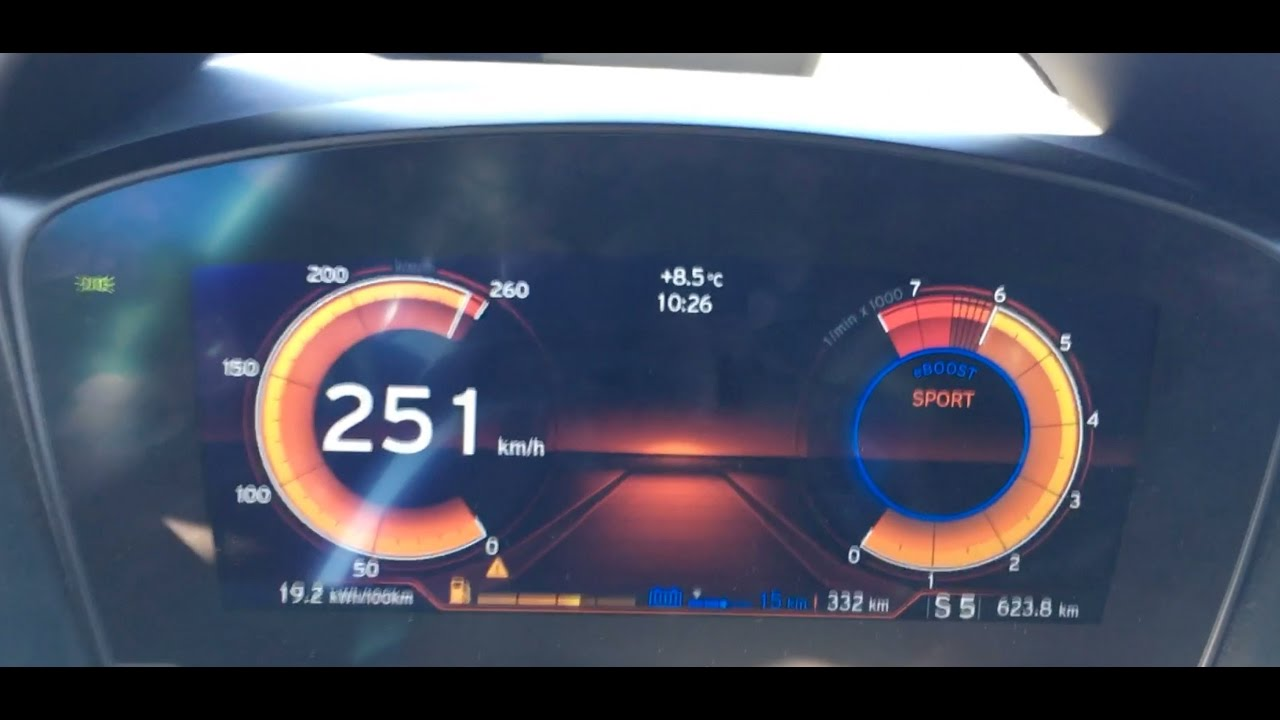 Bmw I8 Race Start Acceleration Top Speed 362 Hp 0 251 Km H Youtube