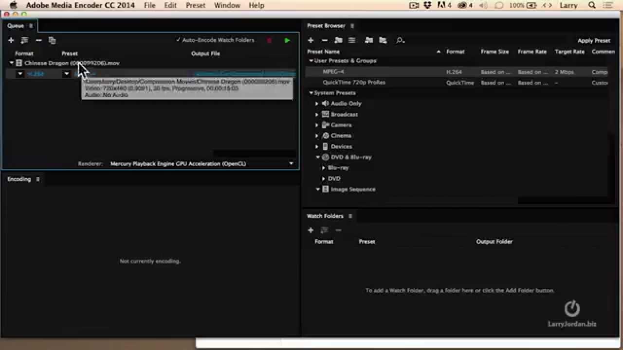 Customizing Your Compression Settings (Adobe Media Encoder)