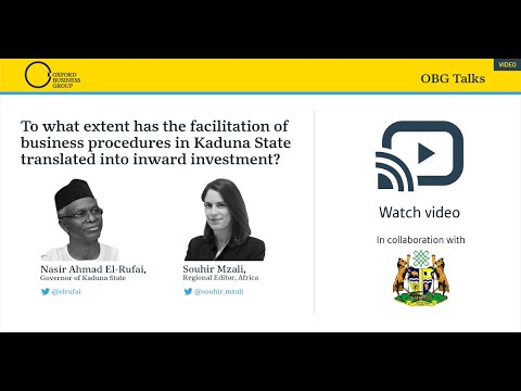 To what extent has the facilitation of business procedures in Kaduna State translated to investment?