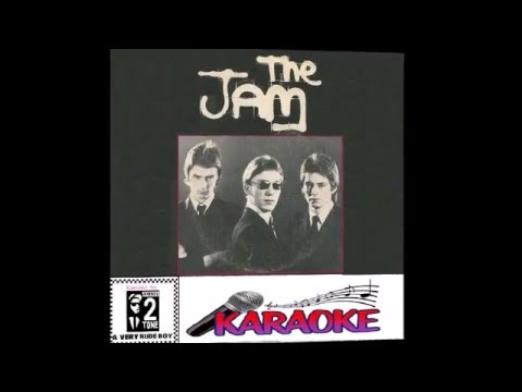 The Jam Karaoke version /going underground