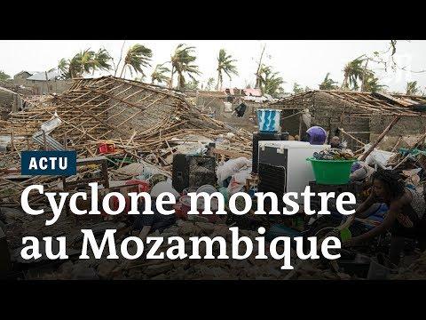 Le Mozambique balayé par le puissant cyclone Idai