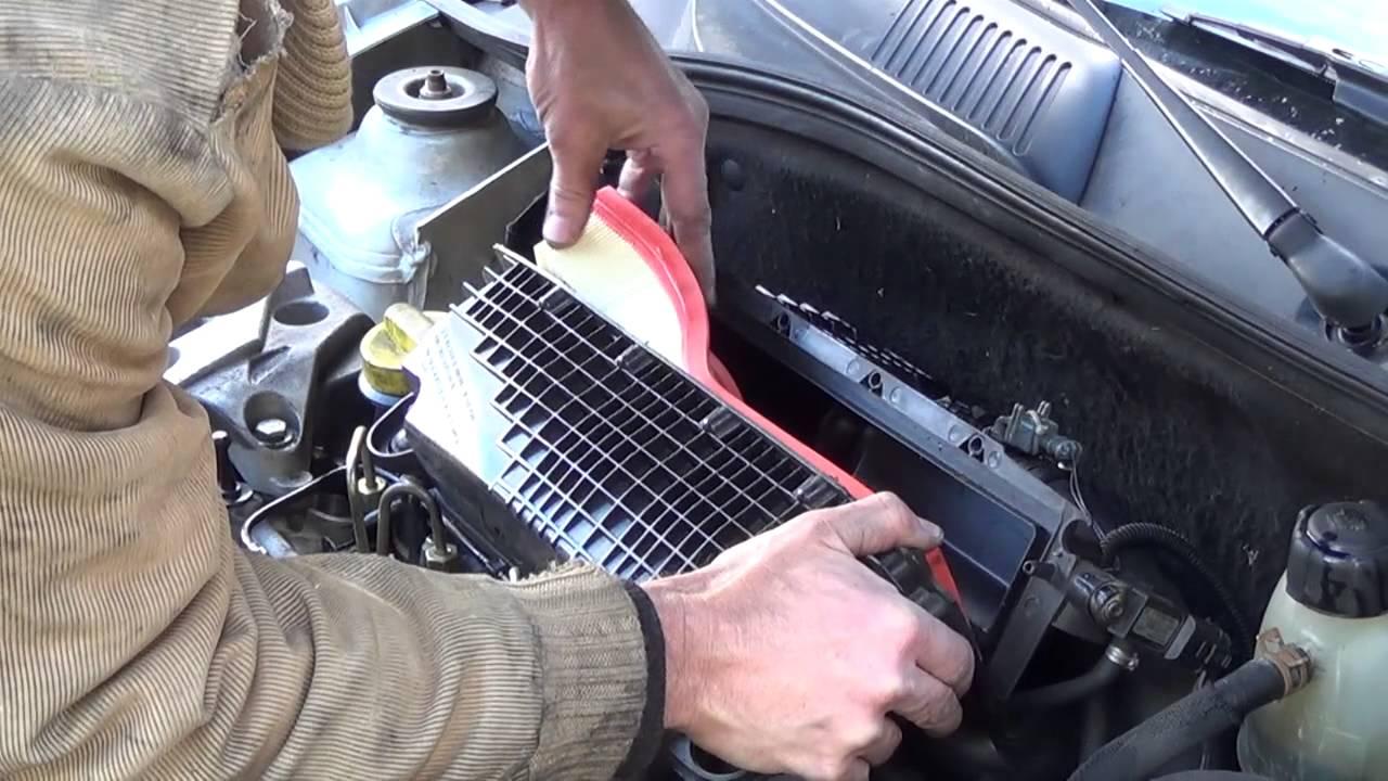 Changer filtre a air clio 2