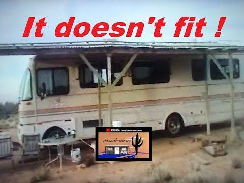 RV don't fit @ AZ Off-Grid (Unplugged)