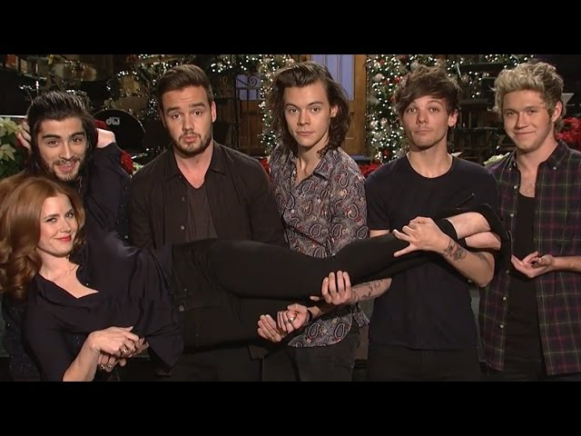 Amy Adams & One Direction HILARIOUS SNL Promo – Watch!