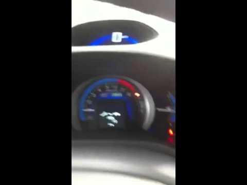 Apagar Aviso De Revisao Honda Insight Youtube