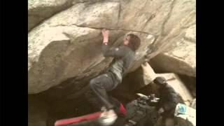 Daniel Woods climbs The Game V15