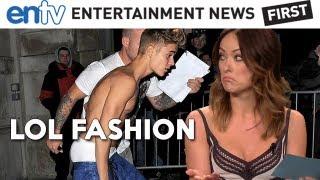 Justin Bieber LOL Fashion : Underwear Out Voted Worst Fashion Ever - ENTV