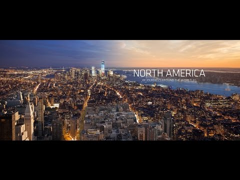 North America | 4k timelapse USA and Canada