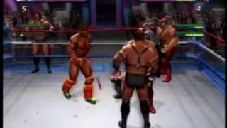 Showdown Legends of Wrestling (LOD and Ultimate Warrior vs. Demolition)