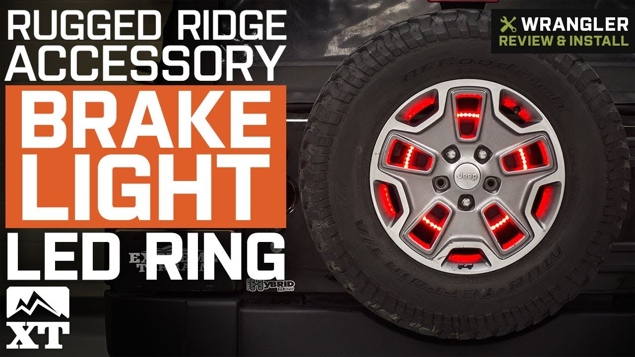 Jeep Wrangler Rugged Ridge Brake Light Led Ring 1987 2018
