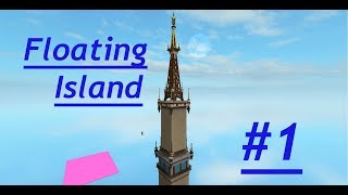 ROBLOX Speed Build / Floating Steampunk Island / Part 1