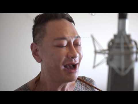 Tattooed Guy sings