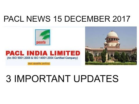 PACL 15 DECEMBER LATEST NEWS - WHY THE  JUDGE GOT ANGRY    HIMACHAL MEETING     PEARLS GROUP NEWS