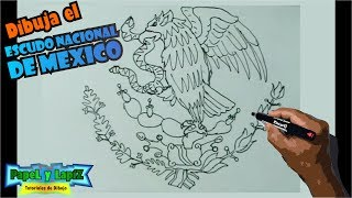 Video Aprende a dibujar fácil el escudo nacional de Mexico download MP3, 3GP, MP4, WEBM, AVI, FLV Juli 2018