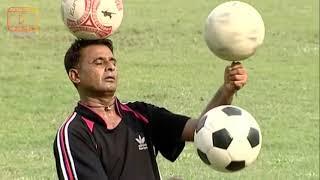 নরসিংদীর দেশখ্যাত ফুটবলার দোলনের ফুটবল নিয়ে নানা কর্মযজ্ঞ | Football | Narsingdi | Biography