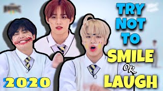 THE BOYZ TRY NOT TO SMILE OR LAUGH CHALLENGE   BEST OF 2020