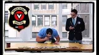 FURIOUS PETE attempts VEGAN Guinness World Record Challenge!