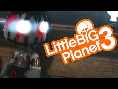 LittleBigPlanet 3 - THE MIDNIGHT MAN CREEPYPASTA - (Little Big Planet 3)